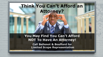 Think You Can't Afford An Attorney?